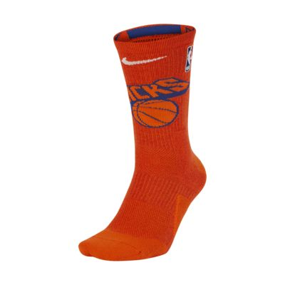 Calcetines largos de la NBA New York Knicks Nike Elite