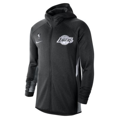 Felpa Los Angeles Lakers con cappuccio Nike Therma Flex Showtime NBA - Uomo