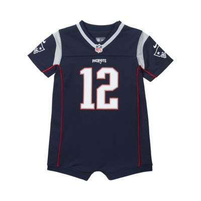 NFL New England Patriots (Tom Brady) Baby and Toddler Romper