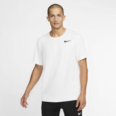 Nike Pro–kortærmet top til mænd