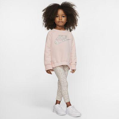 Conjunto de prenda para la parte superior y leggings infantil Nike Sportswear