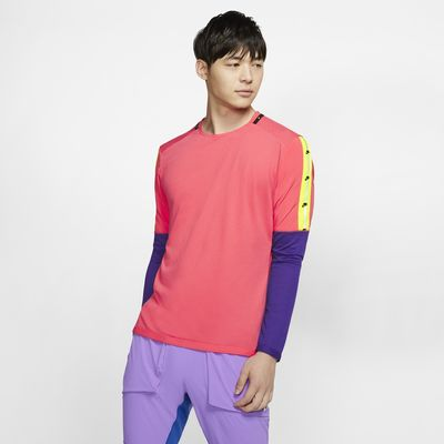 Nike 男款長袖跑步上衣