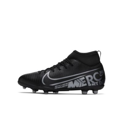 Athletic Works Soccer Cleats Youth Size 1,2,3  New  Futbol Shoes Black//White