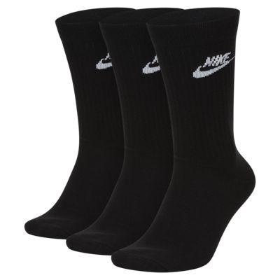 Nike Sportswear Everyday Essential Crew sokken (3 paar)