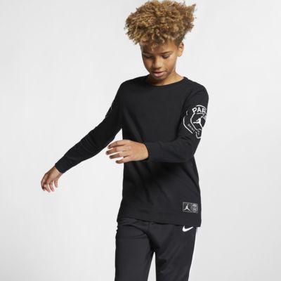PSG Langarm-T-Shirt für ältere Kinder (Jungen)