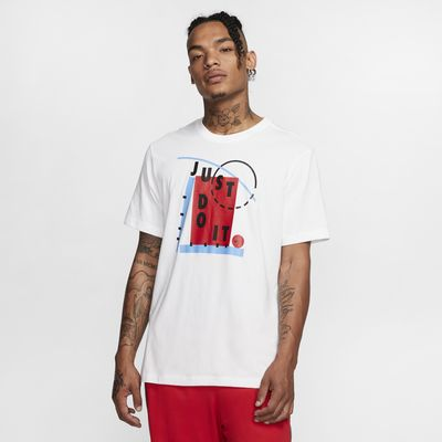 "Nike Dri-FIT ""Just Do It"" Men's Basketball T-Shirt"