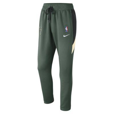 Milwaukee Bucks Nike Therma Flex Showtime Pantalón de la NBA - Hombre