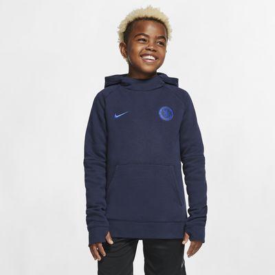 Chelsea FC Older Kids' Fleece Pullover Hoodie