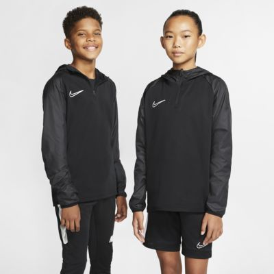 Nike Dri-FIT Repel Academy Older Kids' Hooded Football Drill Top