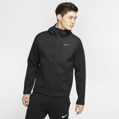 Nike Therma 男子全长拉链开襟连帽训练夹克