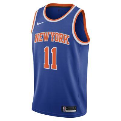 Camiseta Nike NBA Swingman Frank Ntilikina Knicks Icon Edition