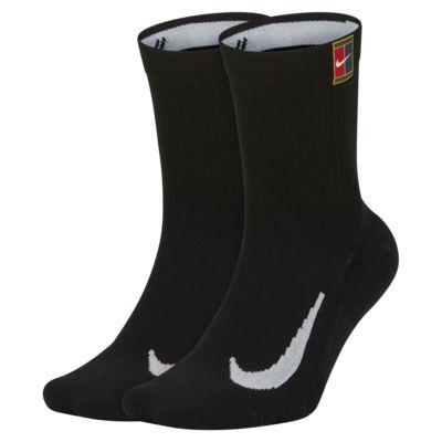 Chaussettes de tennis mi-mollet rembourrées NikeCourt Multiplier (2 paires)