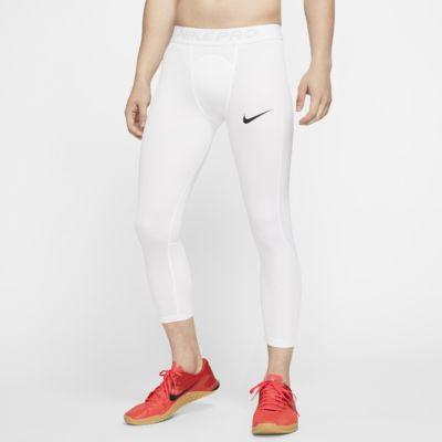 Nike Pro 3/4 男子训练紧身裤