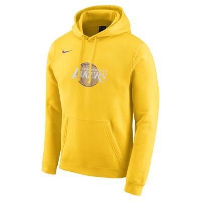 Lakers City Edition Logo Nike NBA-hættetrøje til mænd