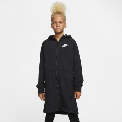 Parka de tejido Fleece para niña talla grande Nike Sportswear