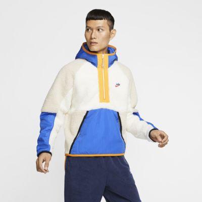 Nike Sportswear 男子半长拉链开襟连帽衫