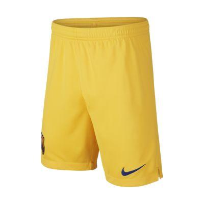 FC Barcelona 2019/20 Stadium Home/Away Older Kids' Football Shorts