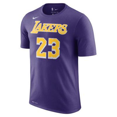 洛杉矶湖人队 (LeBron James) Nike Dri-FIT NBA 男子T恤