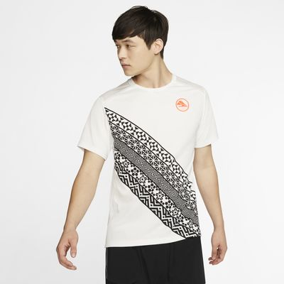 Ανδρική μπλούζα για τρέξιμο Nike Dri-FIT Miler