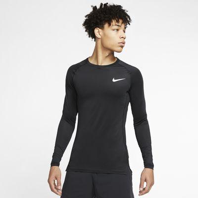 Nike Pro Langarm-Oberteil mit enger Passform für Herren