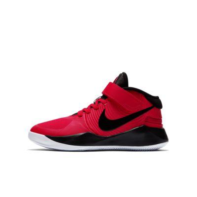 Nike Team Hustle D 9 FlyEase Basketballschuh für ältere Kinder