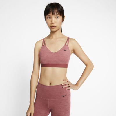 Αθλητικός στηθόδεσμος ελαφριάς στήριξης Nike Yoga
