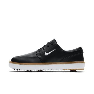 Мужские кроссовки для гольфа Nike Janoski G Tour, Черный/Вачетта/Коричневая резина/Белый металлик, 23243966, 12633132  - купить со скидкой