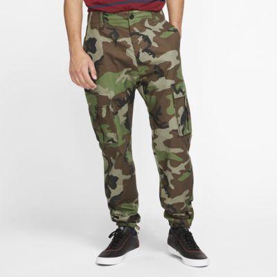 Pantalones cargo de skateboard camuflados para hombre Nike SB Flex FTM