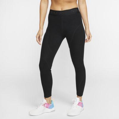 Nike Pro HyperWarm 女子丝绒训练紧身裤