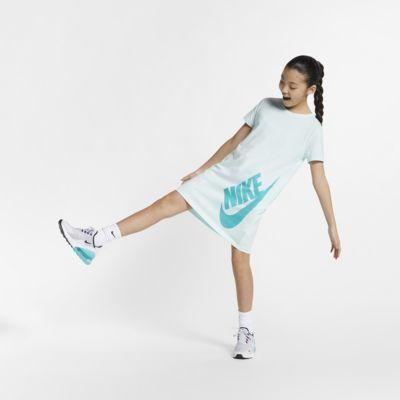 Nike Sportswear 大童(女孩)T恤式连衣裙