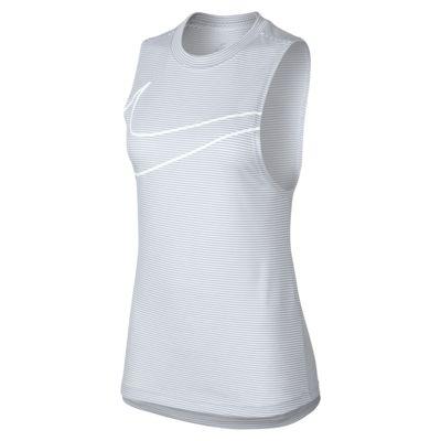 Nike Dri-FIT 女款條紋訓練背心