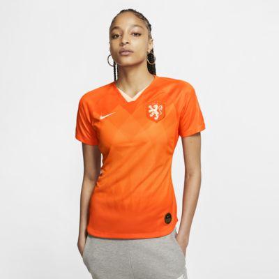 Fotbollströja Netherlands 2019 Stadium Home för kvinnor