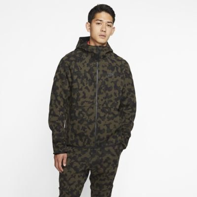 Veste à capuche imprimée camouflage Nike Sportswear Tech