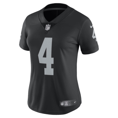 NFL Oakland Raiders (Derek Carr) Women's Limited Vapor Untouchable Football Jersey