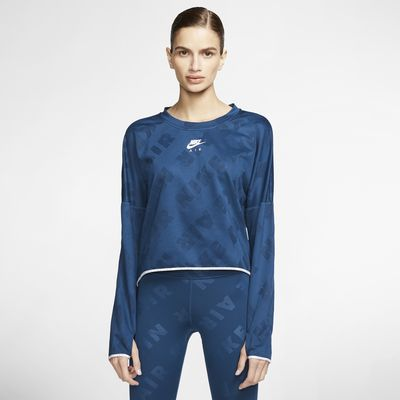 Женская беговая футболка с длинным рукавом Nike Air