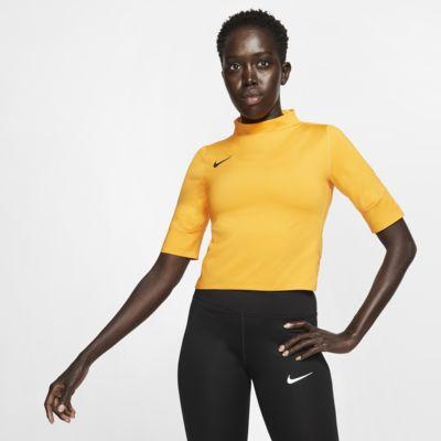 Camiseta de running de manga corta para mujer Nike