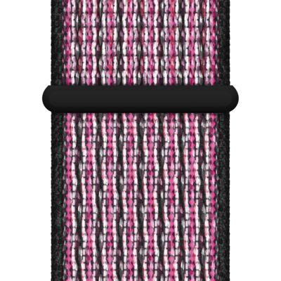 40mm Pink Blast/True Berry/Black Nike Sport Loop