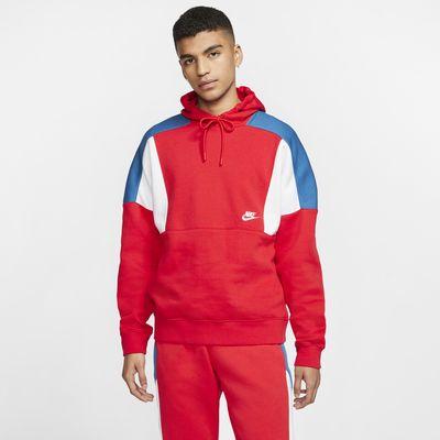 Nike Sportswear Colour-Block Pullover Hoodie