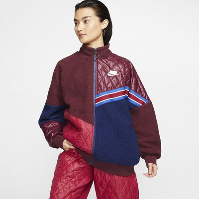 Nike Sportswear Nike Sports Pack Women's Full-Zip Sherpa Track Jacket