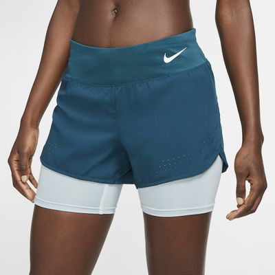 Nike Eclipse 2-i-1 løpeshorts for dame