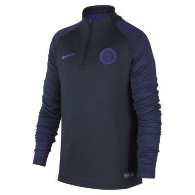 Футболка для футбольного тренинга для школьников Chelsea FC Strike