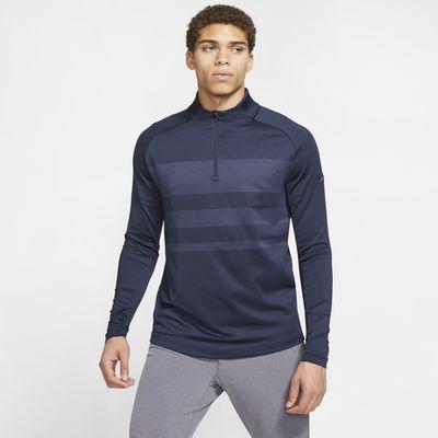 Męska koszulka do golfa z zamkiem 1/2 Nike Dri-FIT Vapor