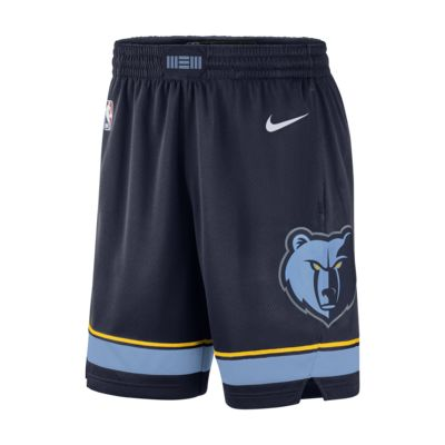 Shorts de Nike NBA para hombre Memphis Grizzlies Icon Edition Swingman