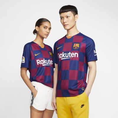 F.C. Barcelona 2019/20 Stadium Home Men's Football Shirt