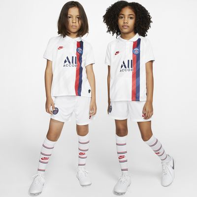 Paris Saint-Germain 2019/20 Third Fußballtrikot-Set für jüngere Kinder