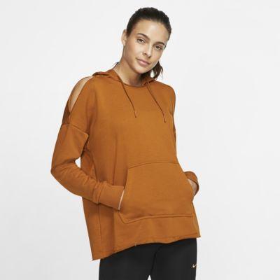 Sudadera con capucha de entrenamiento en tejido Fleece para mujer Nike Icon Clash