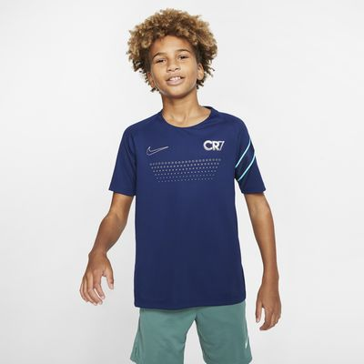 Nike Dri-FIT CR7 Older Kids' Short-Sleeve Football Top