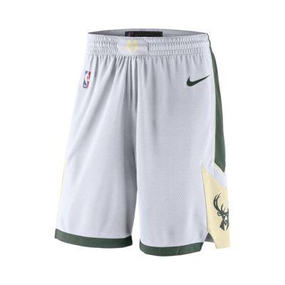 Short Nike NBA Swingman Milwaukee Bucks pour Homme