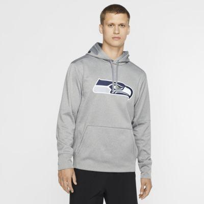 Nike Circuit Logo Essential (NFL Seahawks) Herren-Hoodie