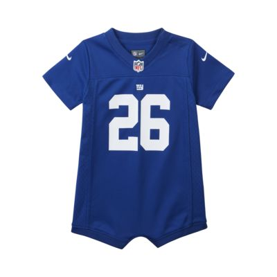 NFL New York Giants (Saquon Barkley) Baby and Toddler Romper